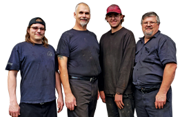 Team of mechanics at Ripleys Auto Service