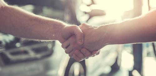 Hand Shake, automotive